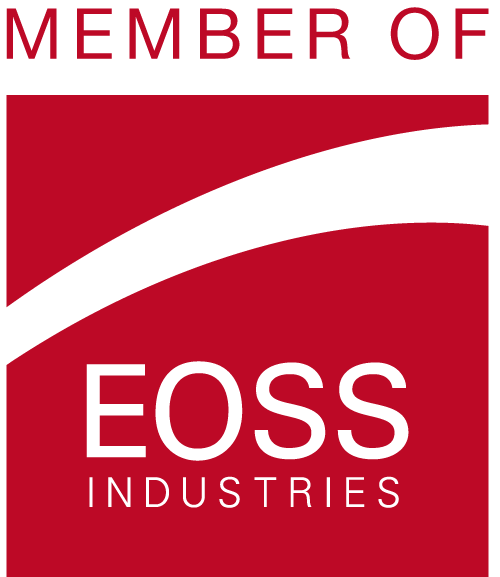 Logo der EOSS-Gruppe: Member of EOSS Industries